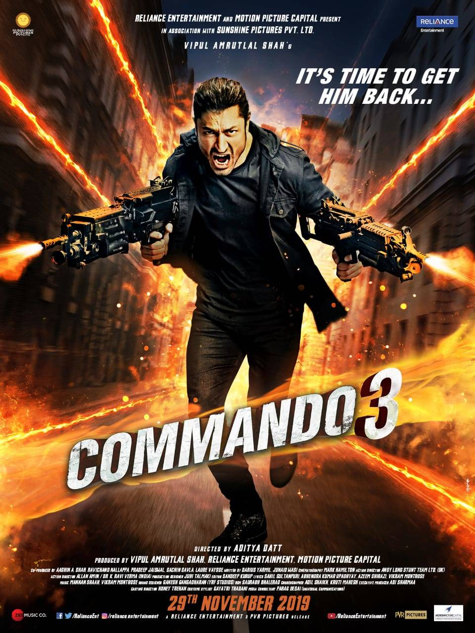 Image result for commando 3 POSTER IMAGE